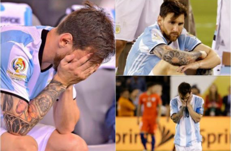 lionel messi retires from international football  but his  u2018god